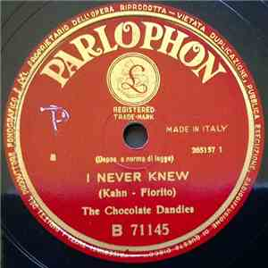 The Chocolate Dandies - I Never Knew / Krazy Kapers FLAC