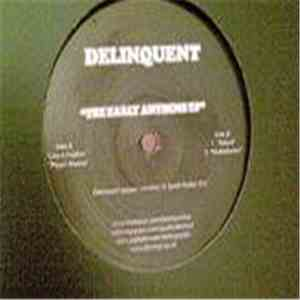Delinquent - The Early Anthems EP FLAC