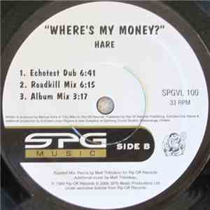 Hare  - Where's My Money? FLAC