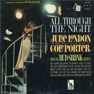 Julie London With The Bud Shank Quintet - All Through The Night FLAC