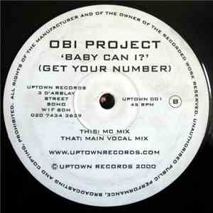 OBI Project - Baby Can I? (Get Your Number) FLAC