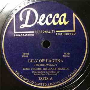 Bing Crosby And Mary Martin - Lily Of Laguna / Wait Till The Sun Shines, Nellie FLAC