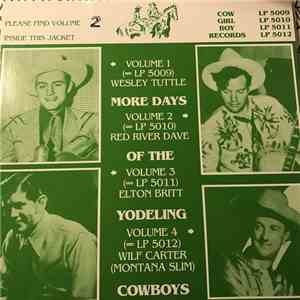 Red River Dave - More Days Of The Yodeling Cowboys Volume 2 FLAC