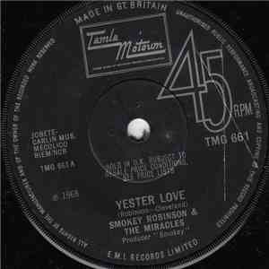 Smokey Robinson & The Miracles - Yester Love FLAC