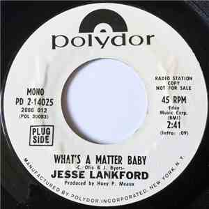 Jesse Lankford - What's A Matter Baby FLAC