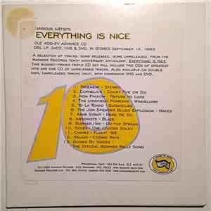 Various - Everything Is Nice - The Matador Records 10th Anniversary Anthology FLAC
