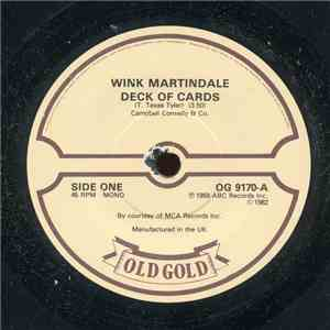 Wink Martindale / Lee Marvin - Deck Of Cards / Wand'rin Star FLAC