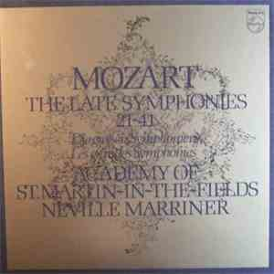 Mozart / The Academy Of St. Martin-in-the-Fields, Neville Marriner - The Late Symphonies / Die Grossen Symphonien / Les Grandes Symphonies 21 - 41 FLAC