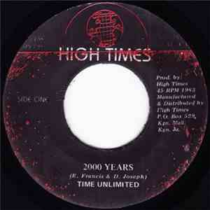 Time Unlimited  - 2000 Years FLAC
