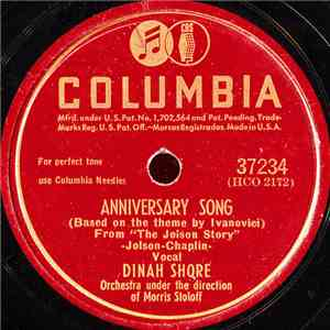 Dinah Shore / Dinah Shore With Spade Cooley And His Orchestra - Anniversary Song / Heartaches, Sadness And Tears FLAC