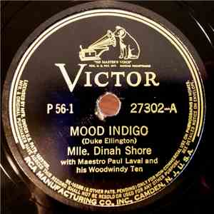 Mlle. Dinah Shore With Maestro Paul Lavalle And His Woodwindy Ten / Prof. Sidney Bechet With Dr. Henry Levine And His Barefooted Dixieland Philharmonic - Mood Indigo / Muskrat Ramble FLAC