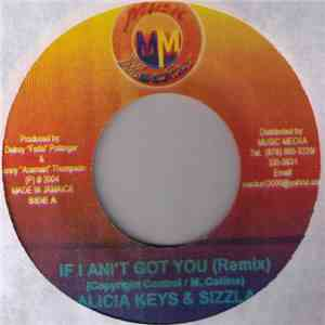 Alicia Keys & Sizzla - If I Ain't Got You (Remix) FLAC