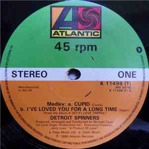 Detroit Spinners - Medley: Cupid / I've Loved You For A Long Time FLAC