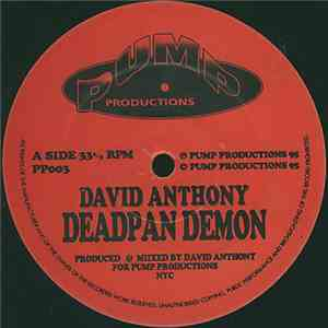 David Anthony - Deadpan Demon FLAC