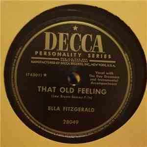 Ella Fitzgerald - That Old Feeling / A Guy Is A Guy FLAC