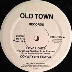 Conway And Temple - Love Lights (You Can Lay Your Head On My Shoulder) FLAC