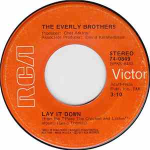 The Everly Brothers - Lay It Down FLAC