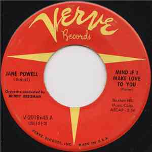 Jane Powell - Mind If I Make Love To You / True Love FLAC