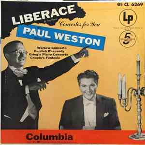 Liberace And Paul Weston  - Concertos For You FLAC