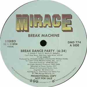 Break Machine - Break Dance Party FLAC