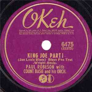 Paul Robeson With Count Basie And His Orch. - King Joe (Joe Louis Blues) FLAC