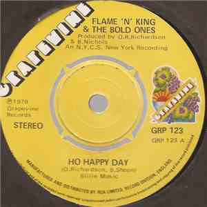 Flame 'N' King & The Bold Ones - Ho Happy Day FLAC